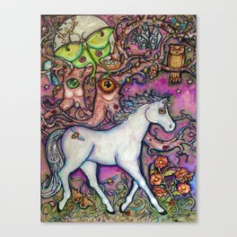 Elemental Fortune - Night of Enchantment Canvas Print