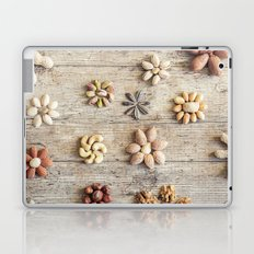 Dried fruits arranged forming flowers Laptop & iPad Skin