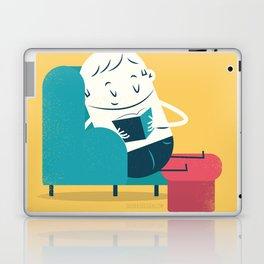 :::Reading on sofa::: Laptop & iPad Skin