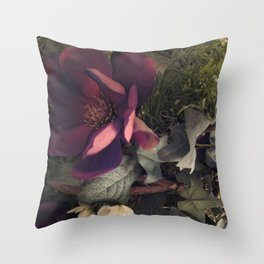 Wreath Photo Throw Pillow