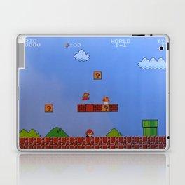Mario Likes A Mushroom Laptop & iPad Skin
