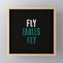 Fly Eagles Fly Framed Mini Art Print