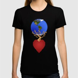 Plant a Tree in Your Heart and the World Will Follow T-shirt