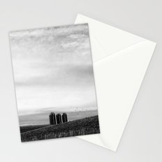Three in a Row Stationery Cards
