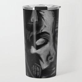 Drained Face Travel Mug
