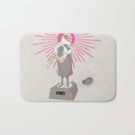 GIRLS BE AMBITIOUS Bath Mat