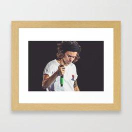 Harry Styles   One Direction Framed Art Print