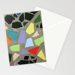 Particolour Abstract Mosaic Stationery Cards