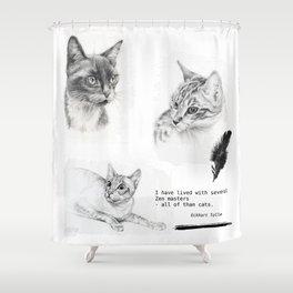 Cats & Zen Shower Curtain