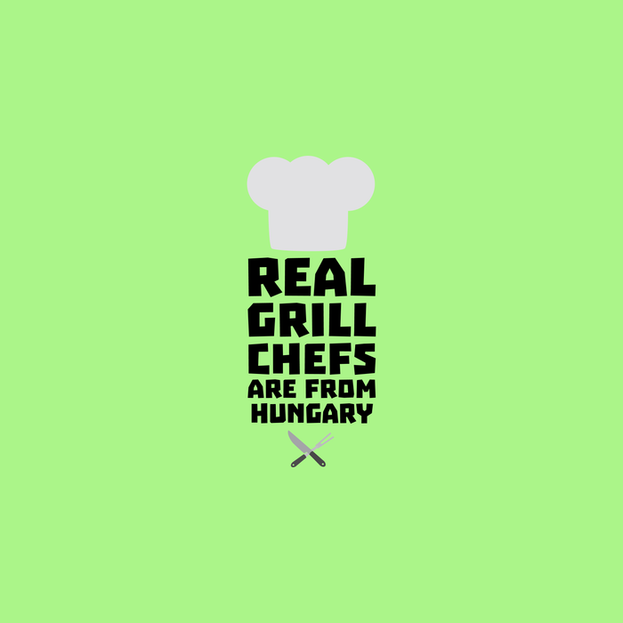 Real Grill Chefs are from Hungary T-Shirt Comforters