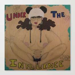 Under The Influence Canvas Print