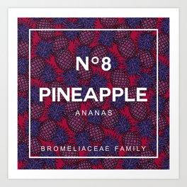 Pineapple N8 Art Print