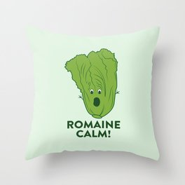 ROMAINE CALM Throw Pillow