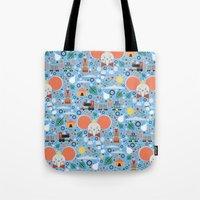 dumbo Tote Bags featuring Dumbo by Carly Watts