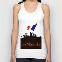 les miserables Tank Tops featuring Les Miserables by TheWonderlander