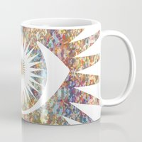 prism Mugs featuring PRISM by shutupbek