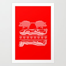 season's eatings. Art Print