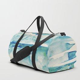 Miami Beach Watercolor #6 Duffle Bag