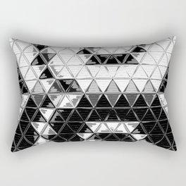Mirrored wave Rectangular Pillow