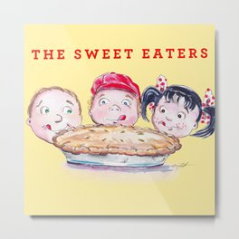 The Sweet Eaters Metal Print
