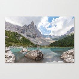 Sorapis Lake - Italy Canvas Print