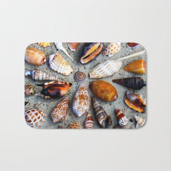 Sea Shells Bath Mat