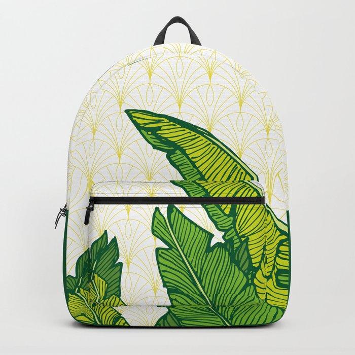 Tropical Leaves #society6 #decor #buyart Backpack