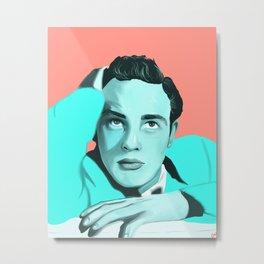 Marlon Brando  Metal Print