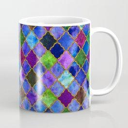 Peacock Arabesque Digital Quilt Coffee Mug