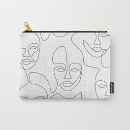 Beauty Portraits Carry-All Pouch