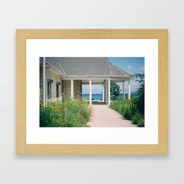 So. Mil. Beach Framed Art Print