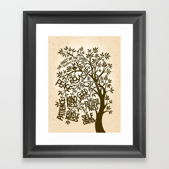 The Fruit of the Spirit (I) Framed Art Print
