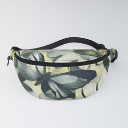 Spring Delight - Flowers And Butterflies Fanny Pack