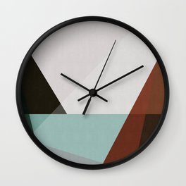Simple and minimalist landscape II Wall Clock