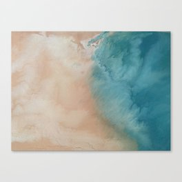 visions of the sea Canvas Print