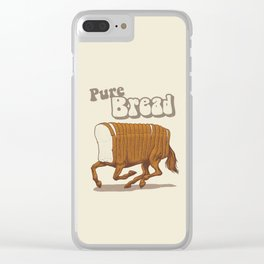 Pure Bread Clear iPhone Case