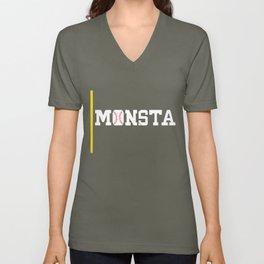 Monsta Unisex V-Neck