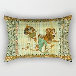 Cleopatra 3 Rectangular Pillow