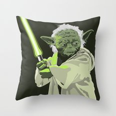 Yoda of Star Wars Throw Pillow