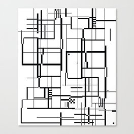 minima Maze. Canvas Print