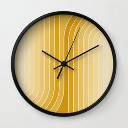 Gradient Curvature VII Wall Clock