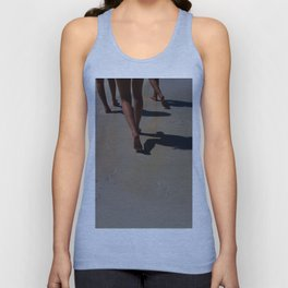 Footprints in the Sand Unisex Tank Top