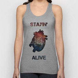 The Need to Live Unisex Tank Top