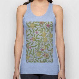 "William Morris ""Fruit or Pomegranate"" 1. Unisex Tank Top"