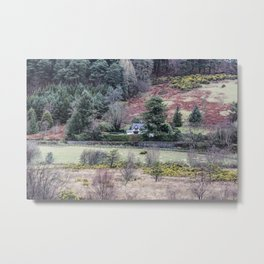 Travel to Ireland: A Country Home Metal Print