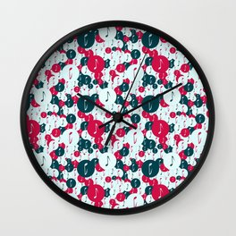 Musical repeating pattern No.5, Collection No.1 Wall Clock
