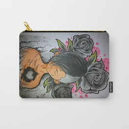 """My mood at this moment """" {Gray} by Reeve Wong Carry-All Pouch"""