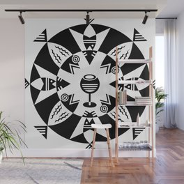 Grafica Futurista Wall Mural