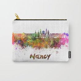 Nancy skyline in watercolor Carry-All Pouch