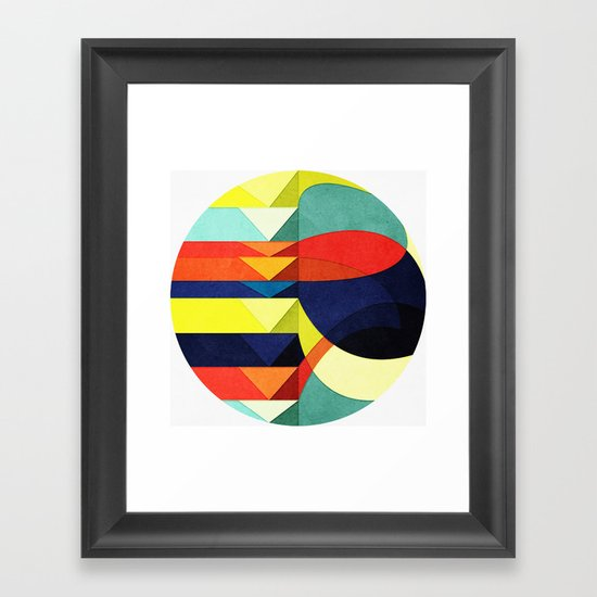 Where Do You Think You're Going? Framed Art Print